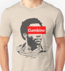 Kindische Gambino Kunst Slim Fit T-Shirt
