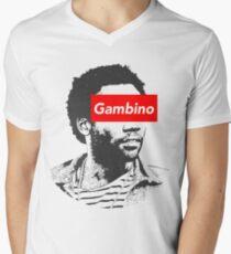 Childish Gambino art Men's V-Neck T-Shirt