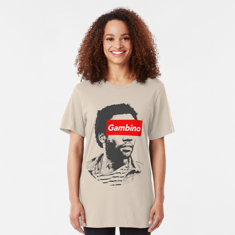 Childish Gambino art Slim Fit T-Shirt