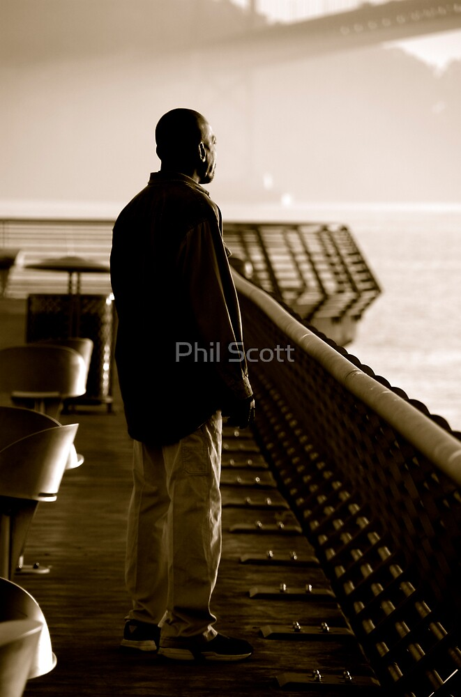 At one with the morning sunrise... by Phil Scott