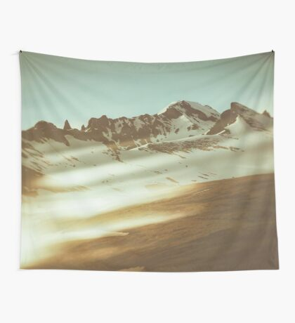 Into the mountains Wall Tapestry