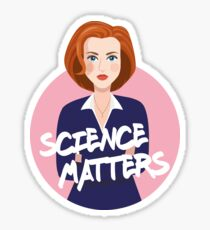 The X-Files Dana Scully Sticker