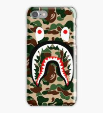 BAPE SHARK WOODLAND CAMO iPhone Case/Skin