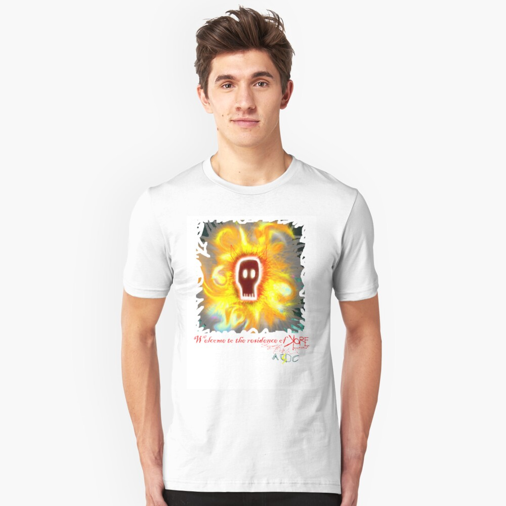 welcome to the residence of Kore Unisex T-Shirt Front