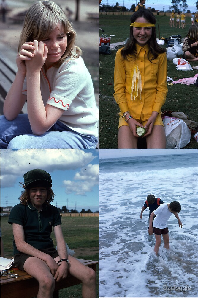 Kids, in the 70s.  by Ozcloggie