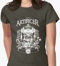 RPG Class Series: Artificer - White Version Womens Fitted T-Shirt