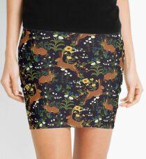 Rabbit Garden Mini Skirt