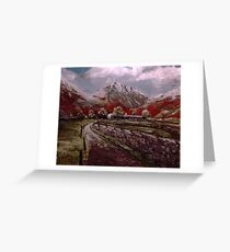 Great Gable Lake District  Greeting Card