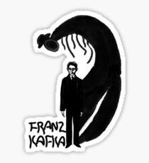 Franz Kafka ink Sticker