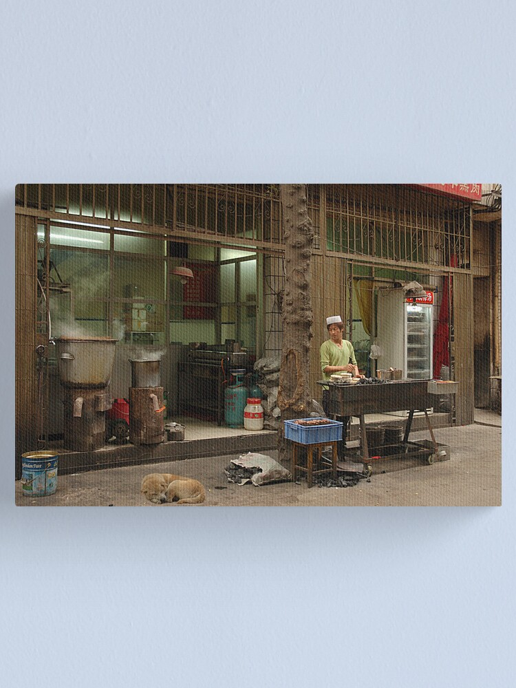 Alternate view of Chinese Takeaway Canvas Print