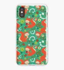 Nutty Squirrel Pattern  iPhone Case/Skin