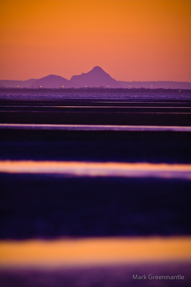 Sunset at Nudgee by Mark Greenmantle
