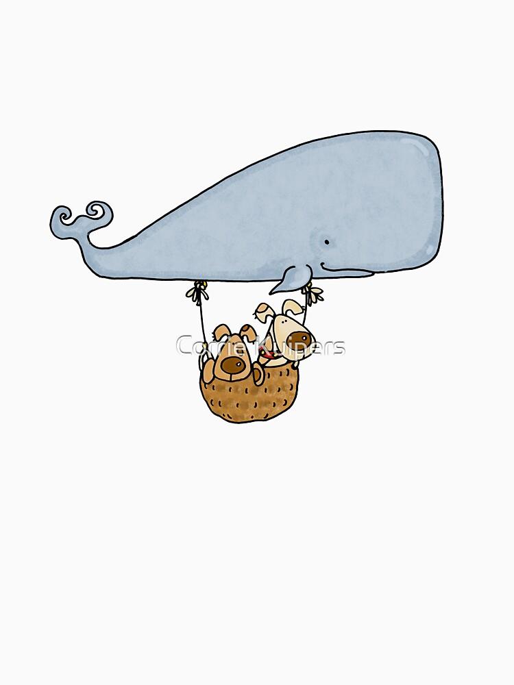 Whale Balloon Doggies by cfkaatje