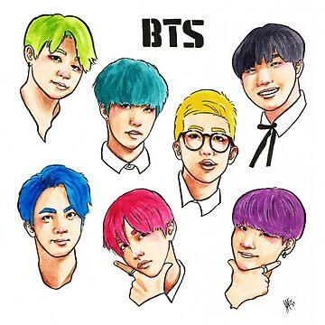 BTS Colorful by JudithzzYuko
