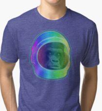 Astronaut Gorilla Tri-blend T-Shirt