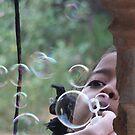 Blowing Bubbles by Coralie Alison
