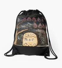 Quoth the Raven Drawstring Bag