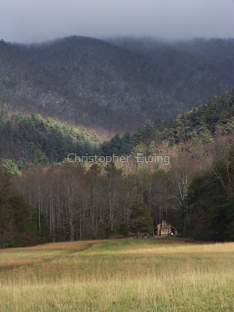 John Olivers Cabin by Christopher  Ewing