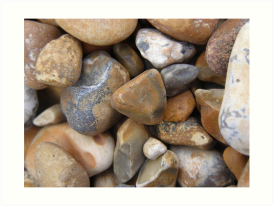 pebbles on the beach  by ibrookes