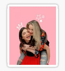 Sabrina Carpenter and Rowan Blanchard (Rowbrina) Sticker