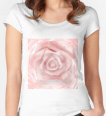 PALE ROSE Women's Fitted Scoop T-Shirt