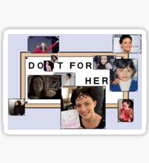 Lara Pulver - 'Do It For Her' Sticker