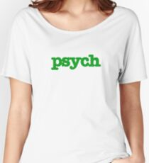 Psych Women's Relaxed Fit T-Shirt