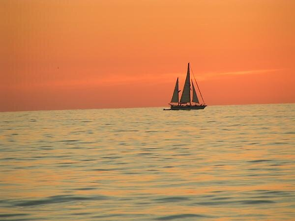 Sailing into the Sunset by Vigo02