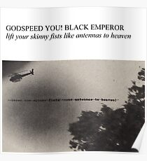 Godspeed You! Black Emperor - Lift Yr. Skinny Fists (Have A Nice Life Style) Poster