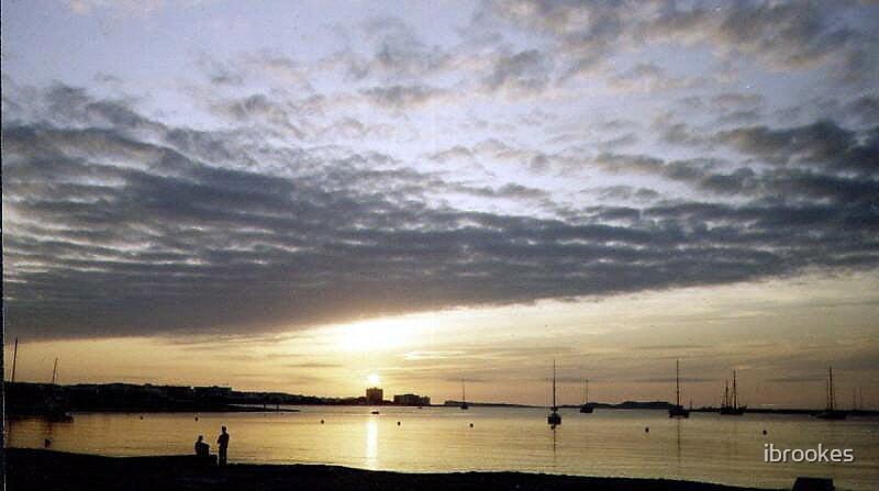 ibiza sunset  by ibrookes
