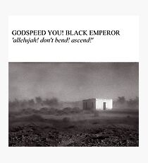 Godspeed You! Black Emperor - Allelujah! Don't Bend! Ascend! (Have A Nice Life Style) Photographic Print