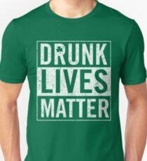 Vintage Drunk Lives Matter T-Shirt