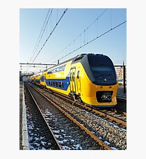 Renovated VIRM on Hoorn Station Photographic Print