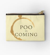 Poo Is Coming Studio Pouch