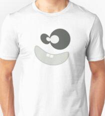 Funny Monster Face Smiley Unisex T-Shirt