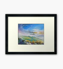 Sunrise in Kerry mountains  Framed Print