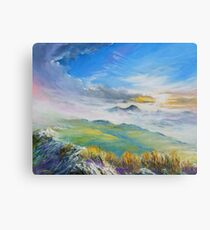 Sunrise in Kerry mountains  Canvas Print