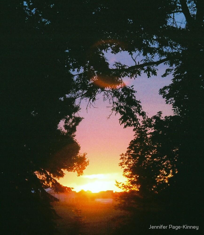 Setting Sun 2 by Jennifer Page-Kinney