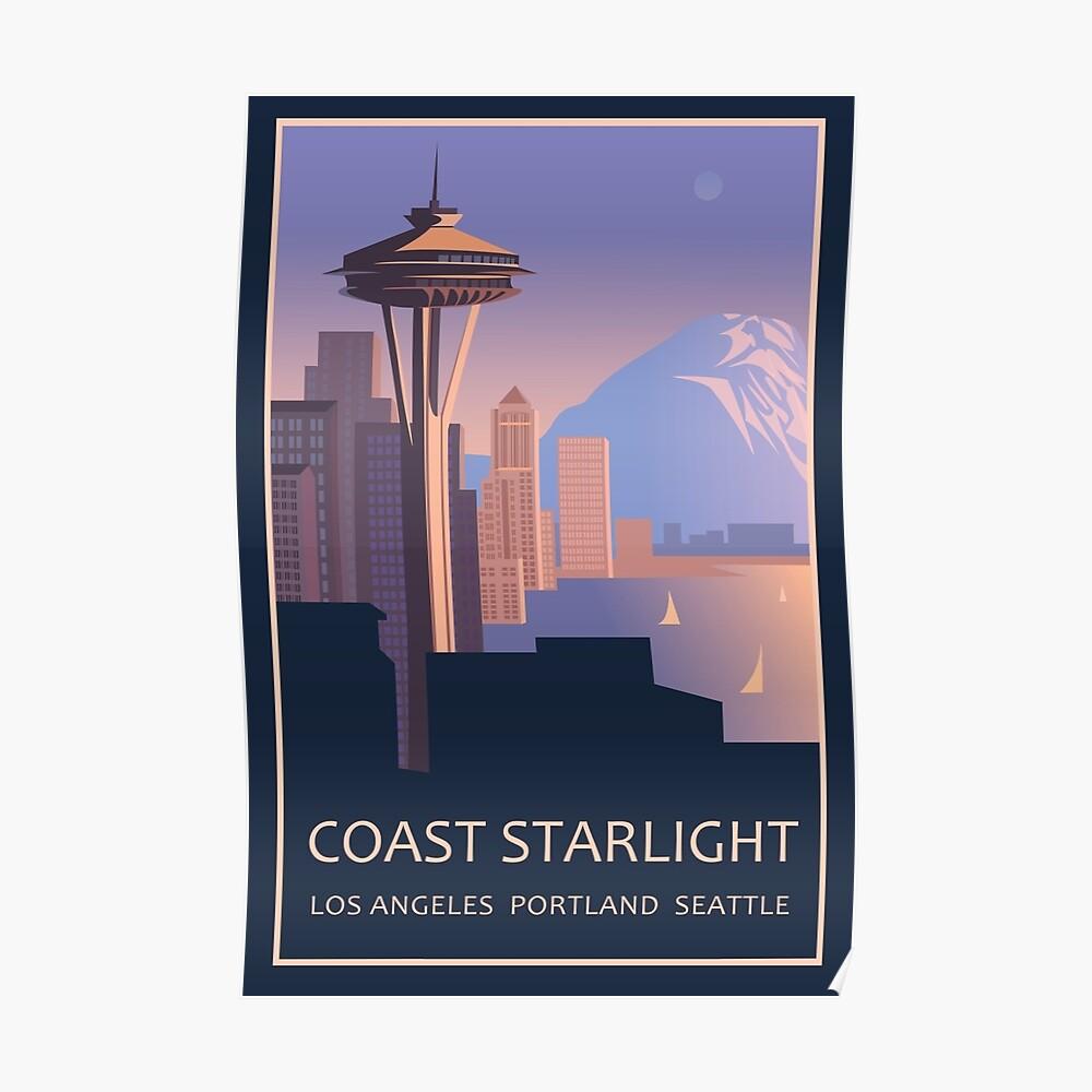 Küste Sternenlicht Poster