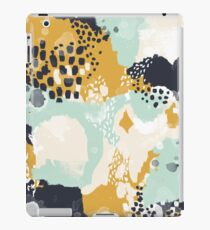 Tinsley - Modern abstract painting in bold, fresh colors iPad Case/Skin