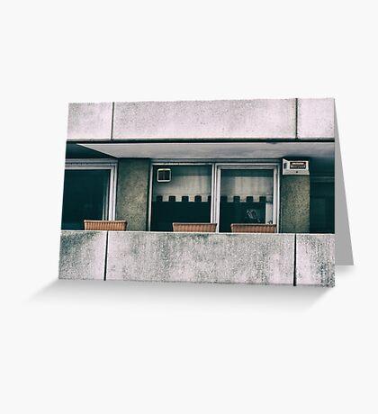 Southbank Windows Greeting Card