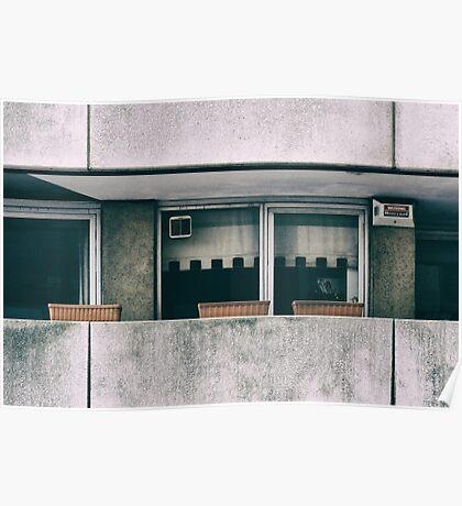 Southbank Windows Poster