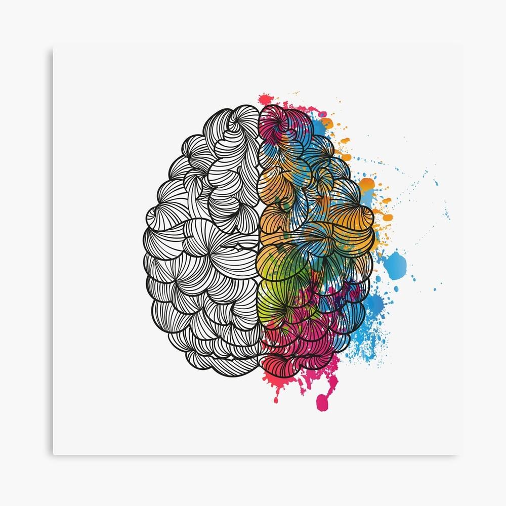 Mi cerebro Lienzo