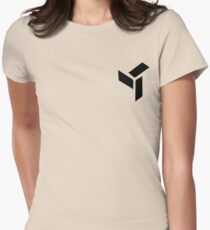 Eden Small Logo  Womens Fitted T-Shirt