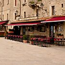 San Marino Patio by Rae Tucker