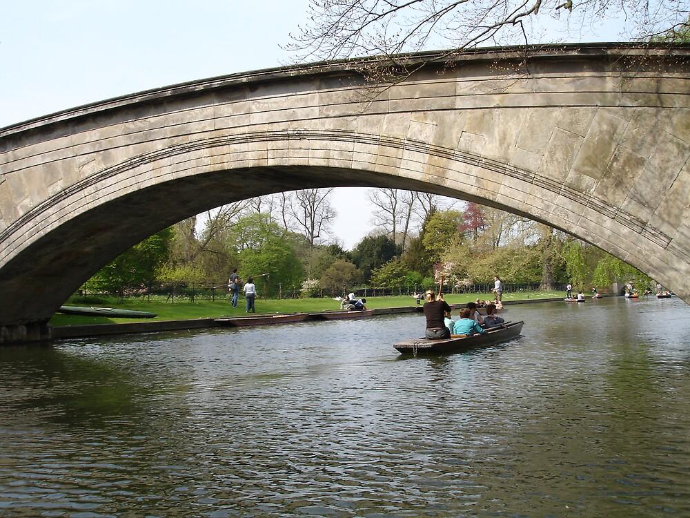 Cambridge bridge beauty by williambarrow