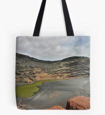 The Green Lagoon Tote Bag