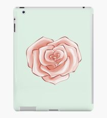 Heart Rose Valentine Inspired Flower Pattern iPad Case/Skin