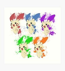 Mathematic and video games Art Print