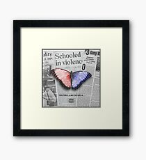 To Pimp A Butterfly Framed Print